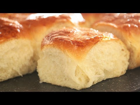 Soft Japanese Milk Bread | Fluffy Dinner Rolls | How Tasty Channel