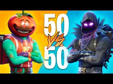 EPIC 50v50 FIGHTS!! (Fortnite Battle Royale) thumbnail