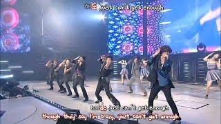 DBSK 동방신기 - Crazy Love (3rd Asia Tour Mirotic) [eng + rom + hangul + karaoke sub]