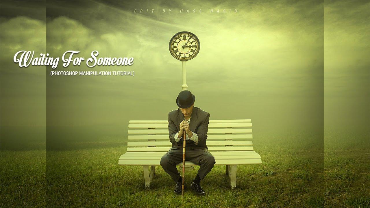 Waiting For Someone Photo Effect Photoshop Manipulation Effects