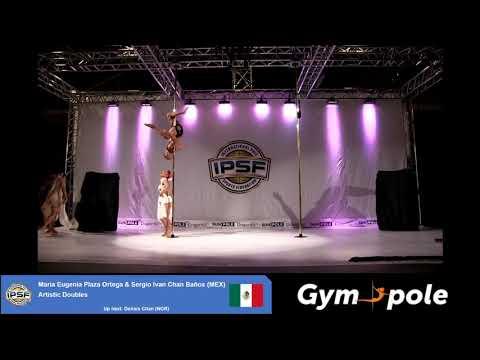 WPSC19 - Artistic Pole - Doubles - Maria Eugenia Plaza Ortega & Sergio Ivan Chan Baños - Mexico