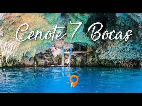 Cenote 7 bocas - Puerto Morelos - Que hacer en Cancun