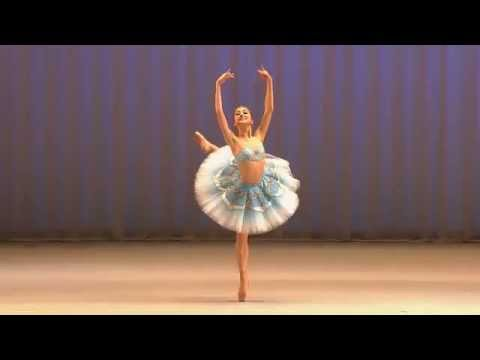 Miko Fogarty, 16, Moscow IBC, Gold Medalist 1st round - Odalisque -