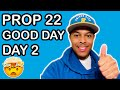 DAY 2 Driving in California with new PROP 22 Rules | Gig Workers | Daily Earnings