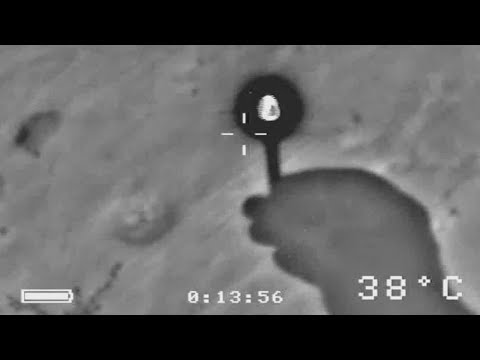 GLOWING AURA on FLIR = Evidence of Aliens?