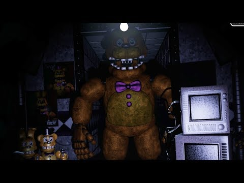 TRAPPED IN FREDBEARS SECRET LOCATION... - FredBear and Friends: Left to Rot (FREE ROAM FNAF)