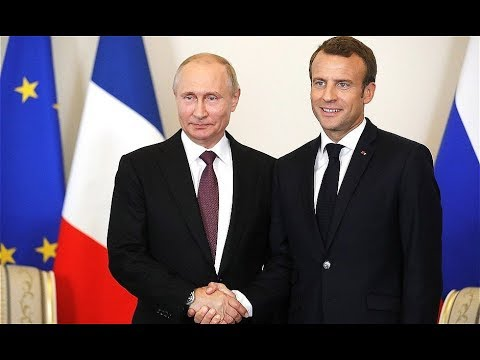 Putin Meets Macron: Russia and France Have Strong And Deep Historical Ties And Strong Ties