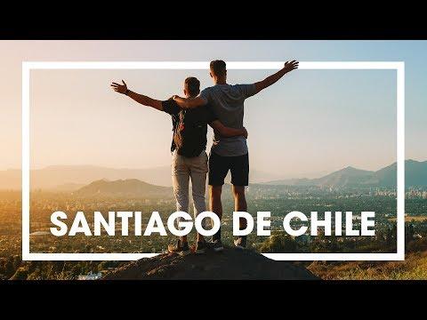 LA MARAVILLA ENTRE LOS ANDES: SANTIAGO DE CHILE (4K)   enriquealex