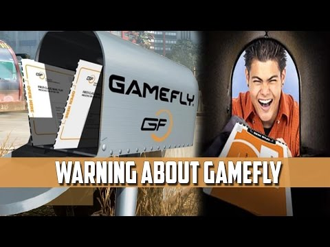 GameFly Warning Be Aware