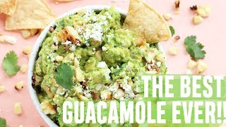 THE BEST EVER GUACAMOLE