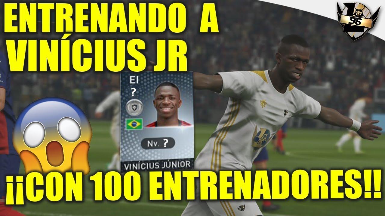 ¡ENTRENANDO A VINÍCIUS JR CON 100 ENTRENADORES! | myClub #32 PES 2019