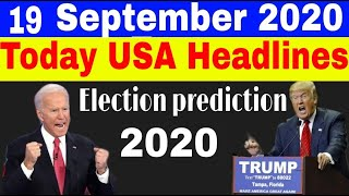 Today's us headlines | 2020 election prediction | joe biden vs trump | cnn news fox news election