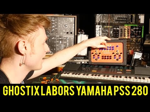 CIRCUIT BENT YAMAHA PSS 280 BY GHOSTIX LABORS