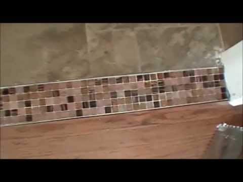 How To Create A Beautiful Tile Transition Strip Between