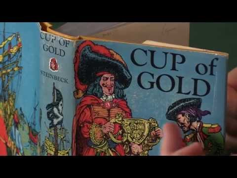 John Steinbeck, Cup of Gold, first edition with the dust jacket.