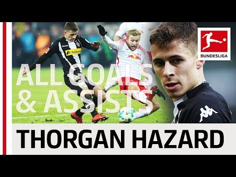 Thorgan Hazard - All Goals and Assists 2017/18