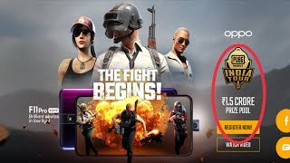 OPPO PUBG MOBILE INDIA TOUR HOW TO REGISTRATION WINNING PRIZE 1.5 CRORE