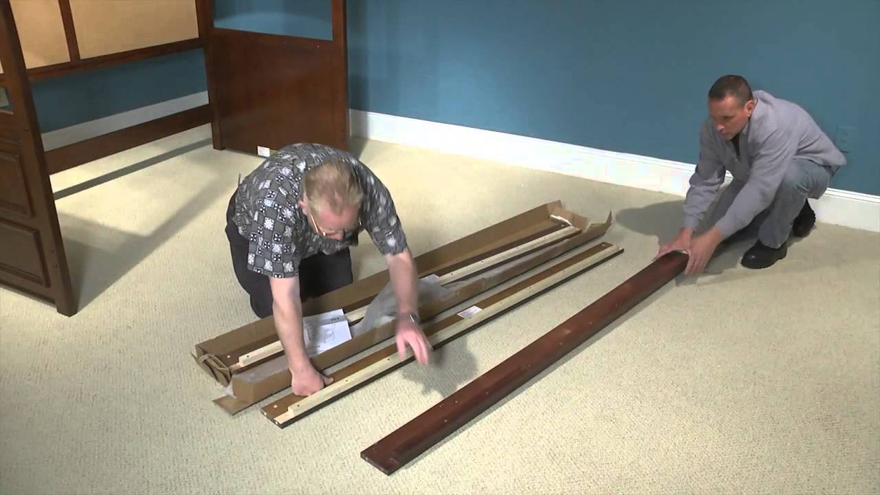 Lea Bunk Bed Replacement Rails Youtube