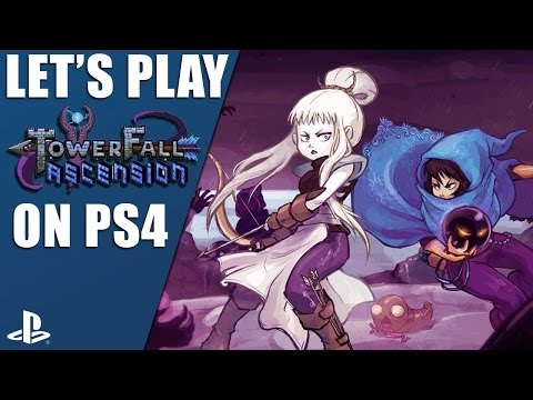 TowerFall Ascension on PS4: Multiplayer deathmatch gameplay