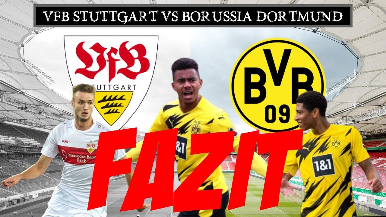 ❌ Abpfiff - Der BVB wendet die Niederlage ab | VFB Stuttgart vs Borussia Dortmund | Das Fazit