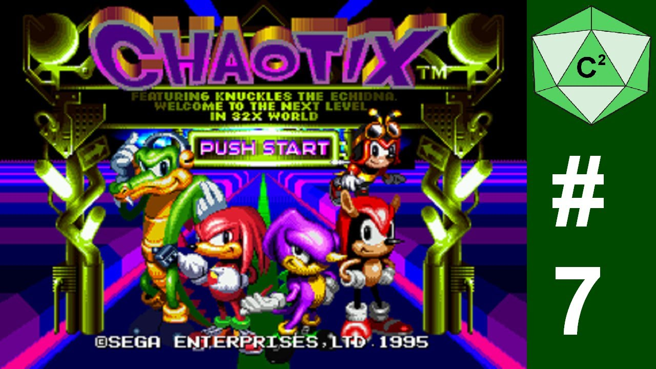 Let's play Knuckles Chaotix - Part 7