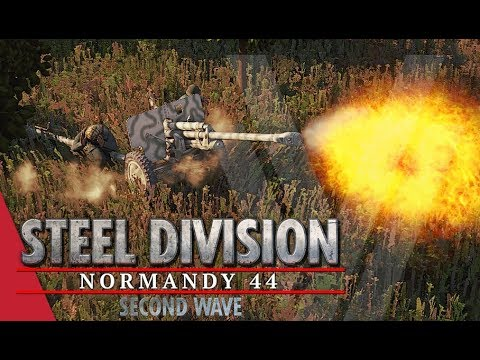 Testing My Knowledge! Steel Division: Normandy 44 Gameplay (Omaha, 4v4)