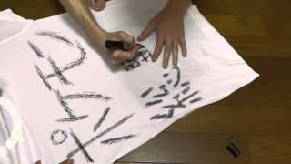 ポケモン総選挙720投票方法パロディ動画用にTシャツを作リました