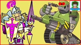 Терминатор 9 000 Игровой Мультфильм для детей про БОИ и СРАЖЕНИЯ Tower Conquest