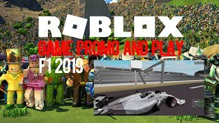 Roblox F1 2019 Promo and Play