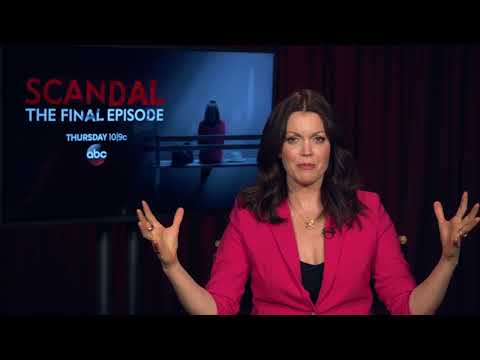 : Bellamy Young talks about the final episode of Scandal  ABC7