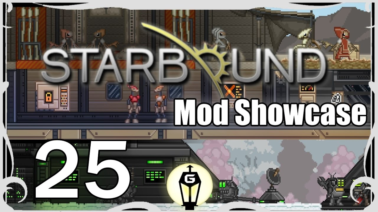 Elithian Races Quick Look | Starbound Mod Showcase Ep 25