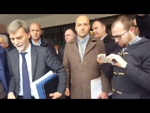 Graziano Del Rio in Terra dei Fuochi  Angelo Ferrillo consegna denunce e dossier