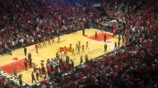 **TRIPLE OVERTIME** Brooklyn Nets vs Chicago Bulls @ United Center (27 April 2013) (MVI3708)