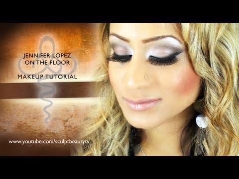 Jennifer Lopez On The Floor Ft Pitbull Makeup