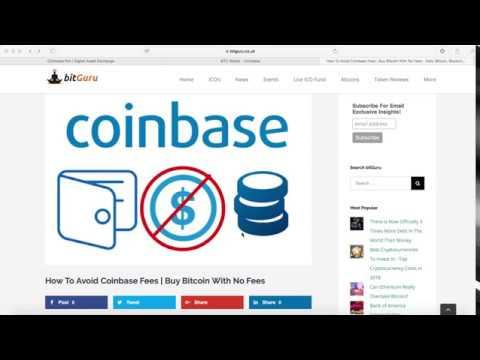Trade cryptocurrency coinbase no fee
