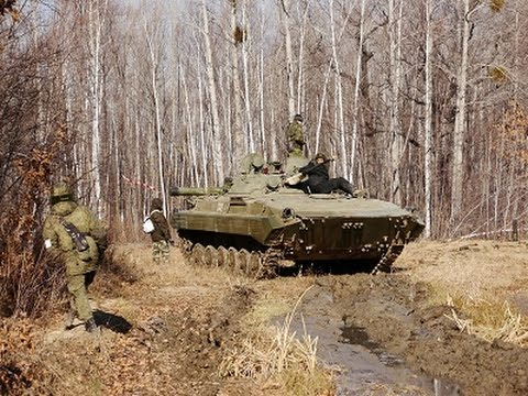 """Внутри боевой машины пехоты. Военно-тактическая игра """"Прорыв"""""""