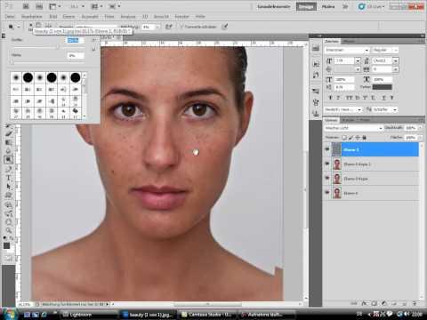 Kristina Bode - Beauty Retusche Fast Motion
