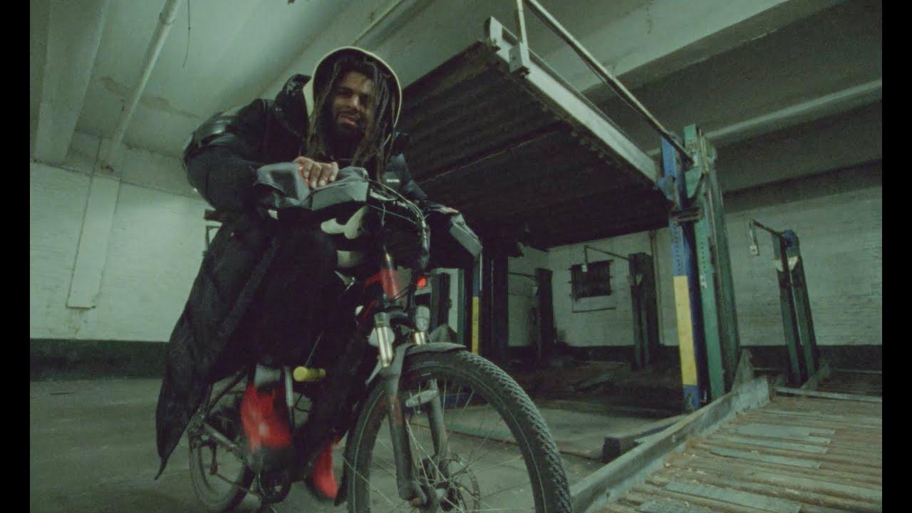 """NEW VIDEO ALERT: J. Cole """"a p p l y i n g . p r e s s u r e"""""""