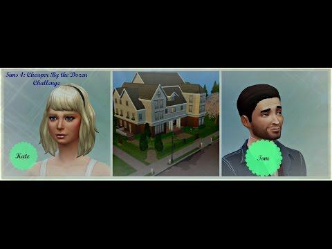 Sims 4: Cheaper by The Dozen Challenge ♡ 1 ♡