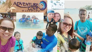 Adventure cove at Sentosa•Family Day• Star war Sand at Siloso beach• Sabby's life