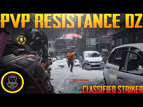 Solo PVP Resistance in DZ?! SOLO DZ PVP #23 (The Division 1.8)