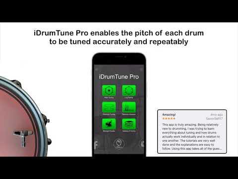 iDrumTune Pro - Drum Tuner App