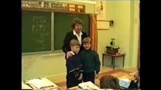 Урок обучения грамоте в 1 классе. Буква Г. Методика Эльконина-Давыдова. Мартьянова Е.В. 1994 год