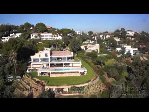 Villa for Sale with sea view in Super Cannes French Riviera