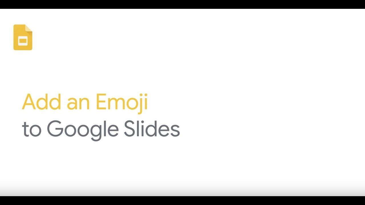 How To: Add Emojis in Google Slides