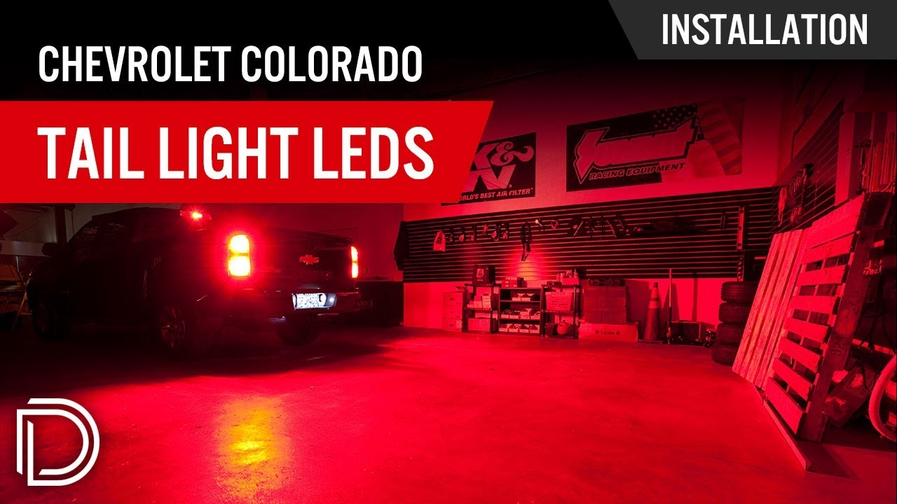 How To Install Chevrolet Colorado Tail Light Leds Youtube