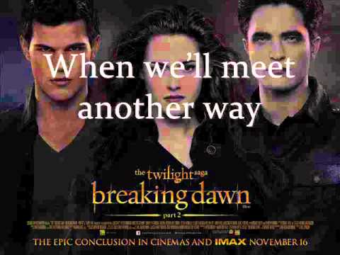 7 - Speak Up - Letra - POP ETC - Soundtrack Breaking Dawn Part 2