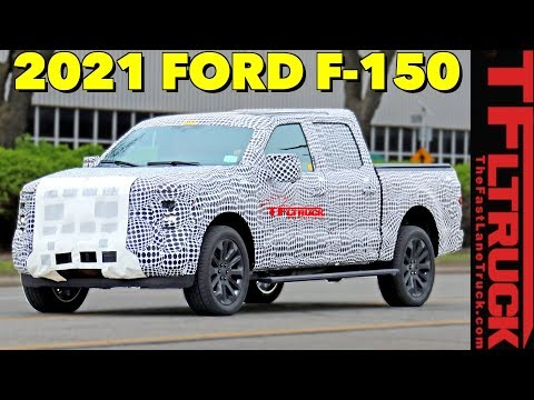 2021 Ford F-150 Prototype Spied! Here's What to EXPECT from the Next F-Series Pickup
