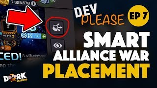Alliance War Defensive Node Placement Marvel Contest of