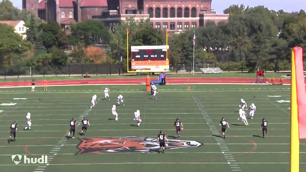 Marquis Artis Buffalo State College Football Highlights ...